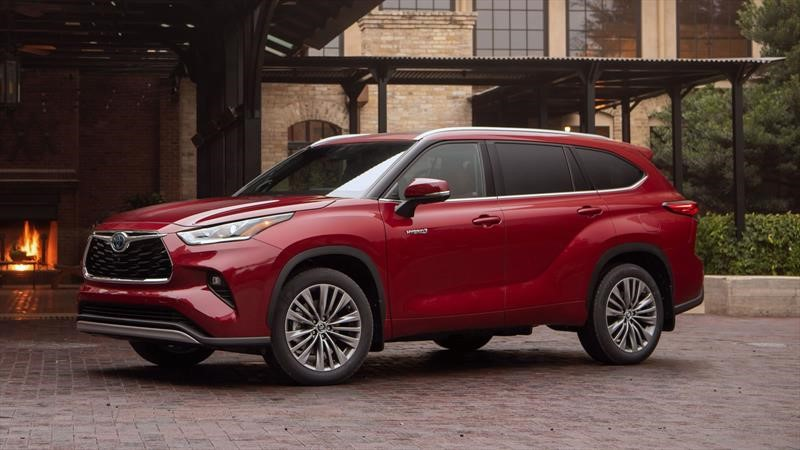 Toyota Highlander Hybrid 2020, primer contacto