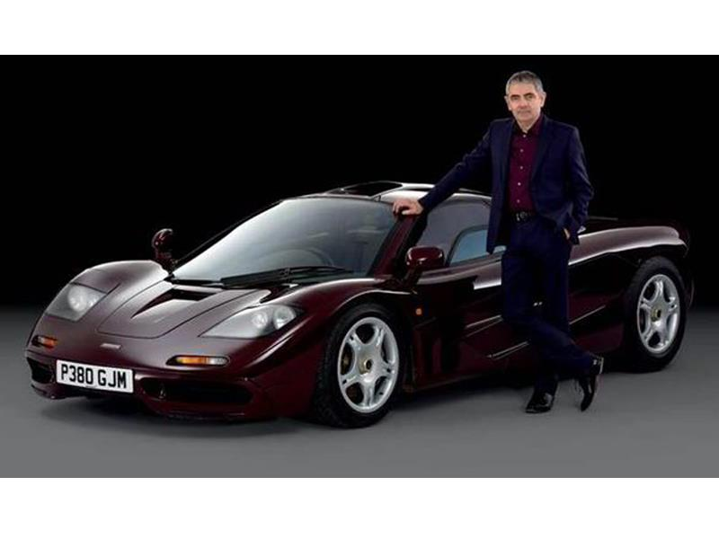 El McLaren F1 de Mr. Bean