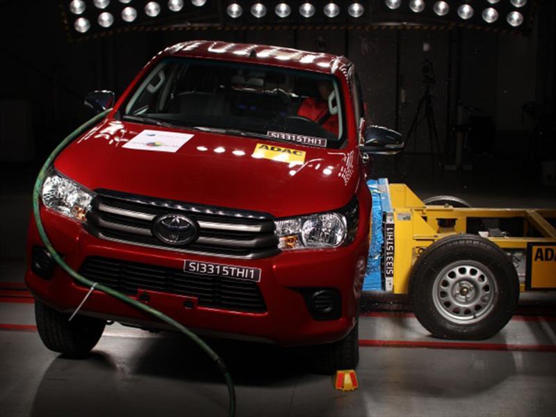 Nueva Toyota Hilux y Grand I10 en Latin NCAP
