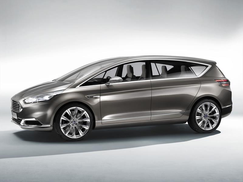 Ford anticipa al nuevo S-Max