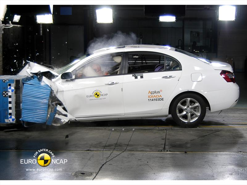 Geely EC7 Crash Test Euro NCAP