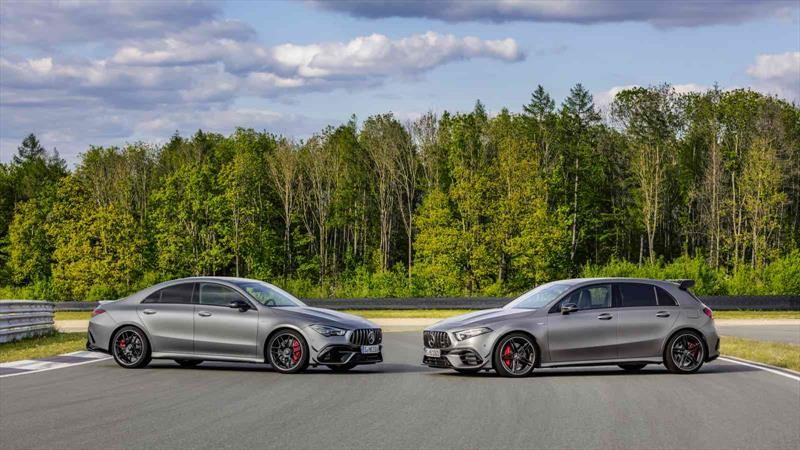 Mercedes-AMG A 45 y CLA 45