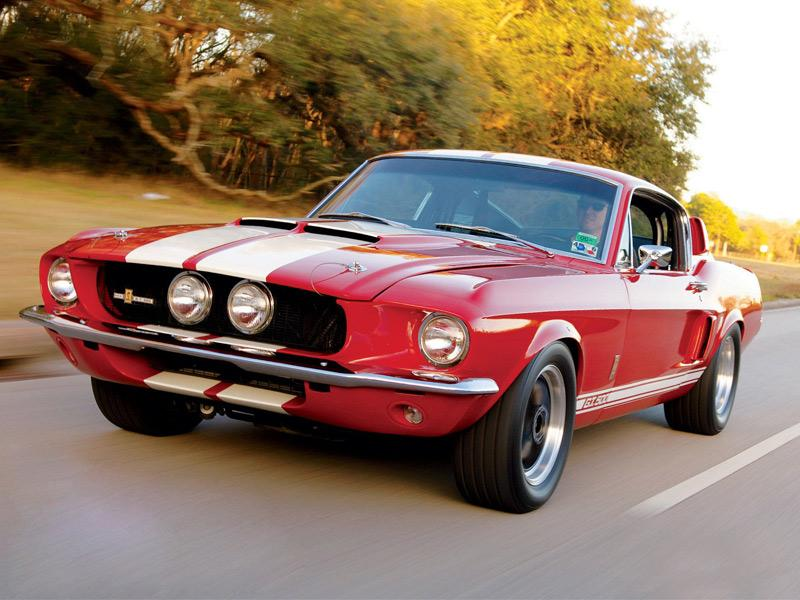Top 10: Ford Mustang Shelby GT500 1967