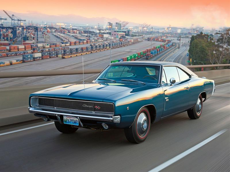 Top 10: Dodge Charger RT 1968