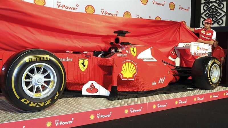 LEGO Fórmula 1 de tamaño real