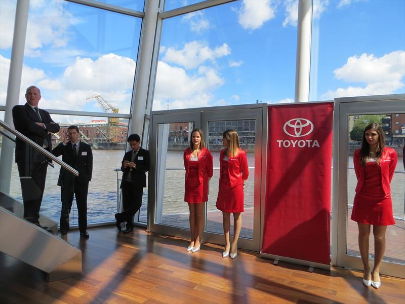 Evento de presentación del Toyota Etios