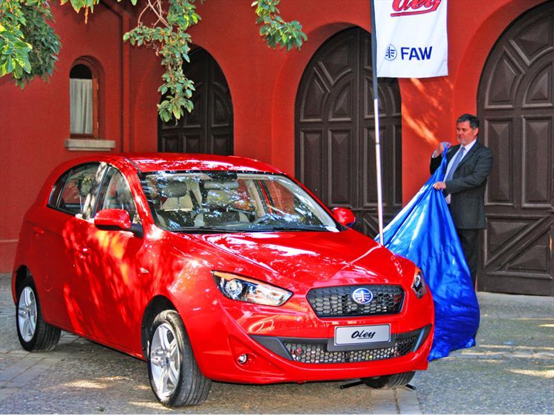 FAW Oley Lanzamiento en Chile