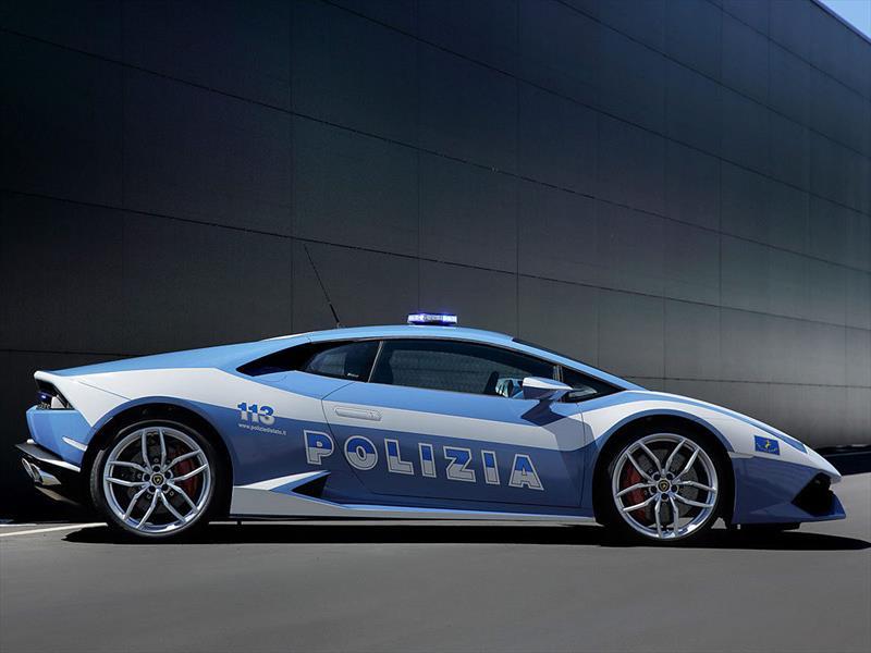 Lamborghini Huracán de la policía italiana