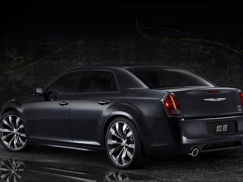 Chrysler 300 Ruyi Design Concept Beijing 2012