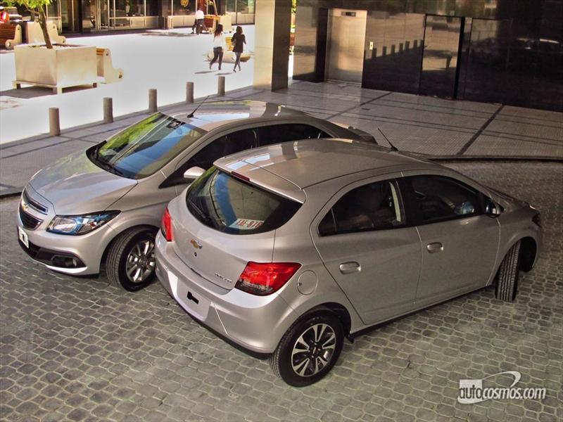 Lanzamiento Chevrolet Onix y Prisma en Argetnina