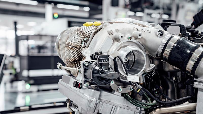 Nuevo turbo eléctrico para autos Mercedes-AMG