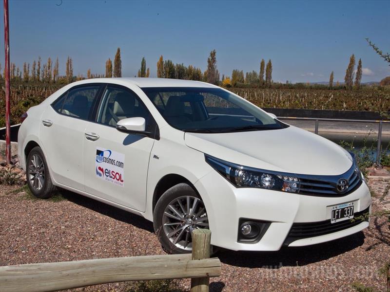 Prueba nuevo Toyota Corolla en Mendoza