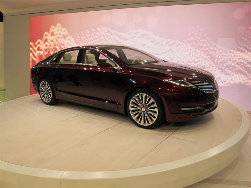 Lincoln MKZ Concept en el Salón de Detroit 2012