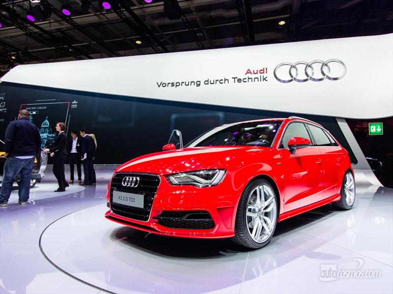 Nuevo Audi A3 Sportback 2013 en París