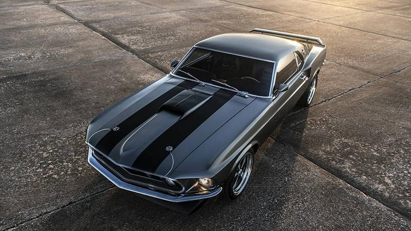 Mustang Mach 1 Hitman 1969 por Classic Recreations