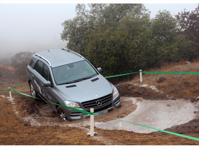 Mercedes-Benz ML 2012 Lanzamiento en Chile