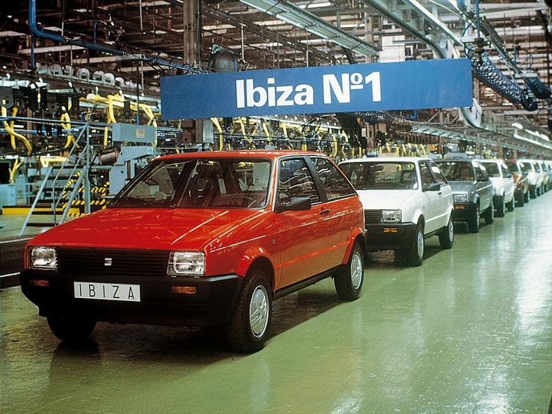 SEAT Ibiza Primera Generación (1984-1992)