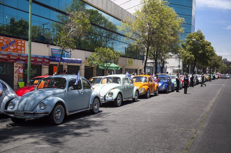 Caravana Volkswagen en la Cd de México