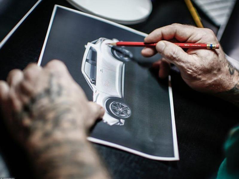 Nissan JUKE tatuado