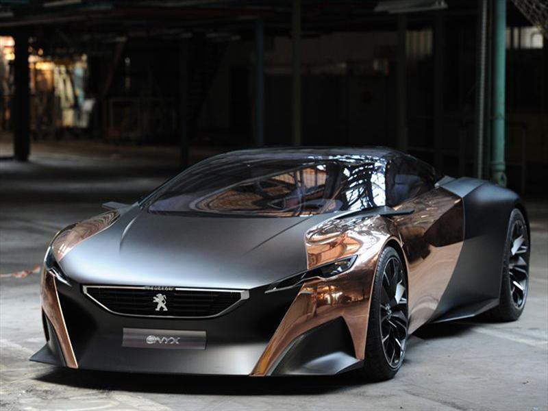 Peugeot Onyx Concept en vivo