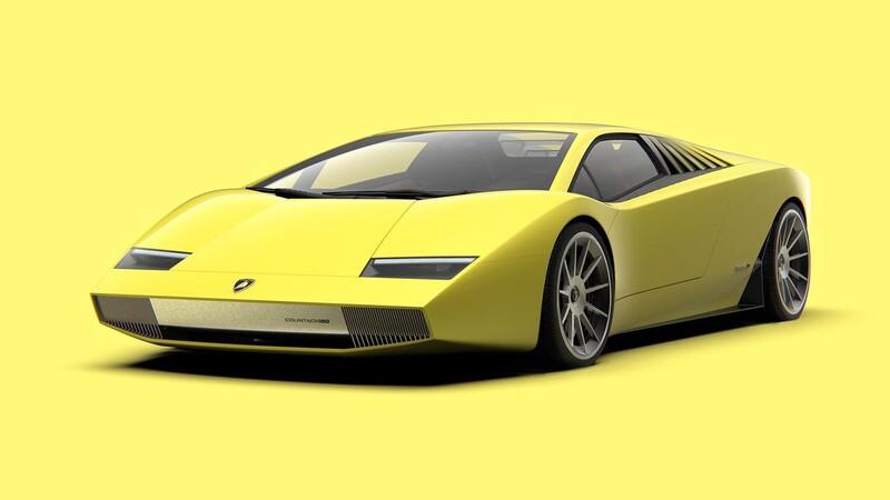 Lamborghini Countach 50 Omaggio by ARC Design