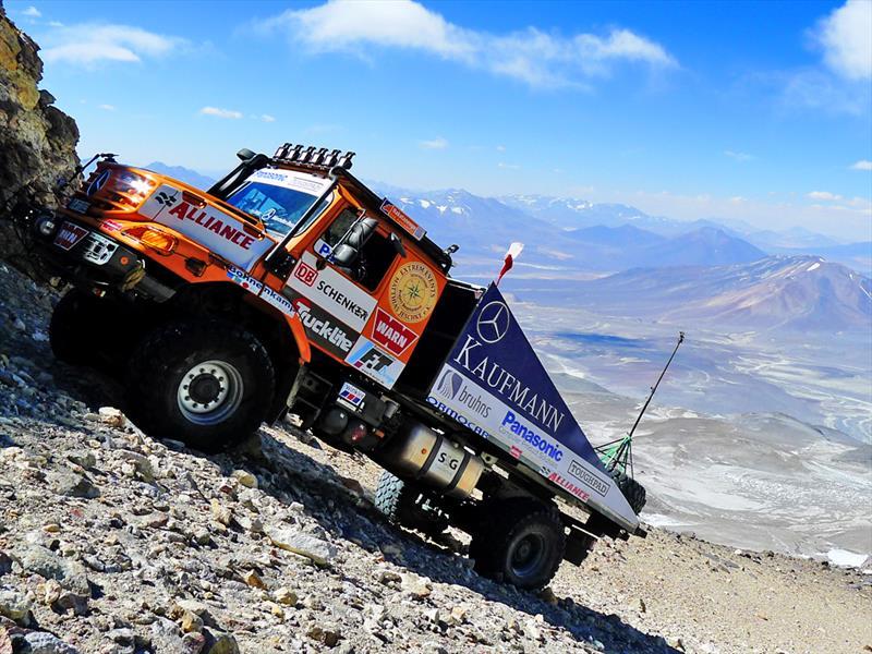 Mercedes-Benz Zetros: Récord mundial en Chile
