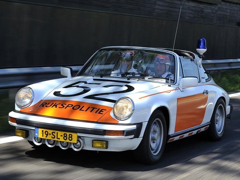 Patrullas Porsche en Holanda
