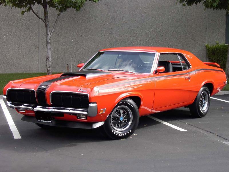 Top 10: Mercury Cougar 427 1970