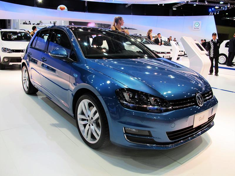 VW Golf VII y GTi en el Salón de BA 2013