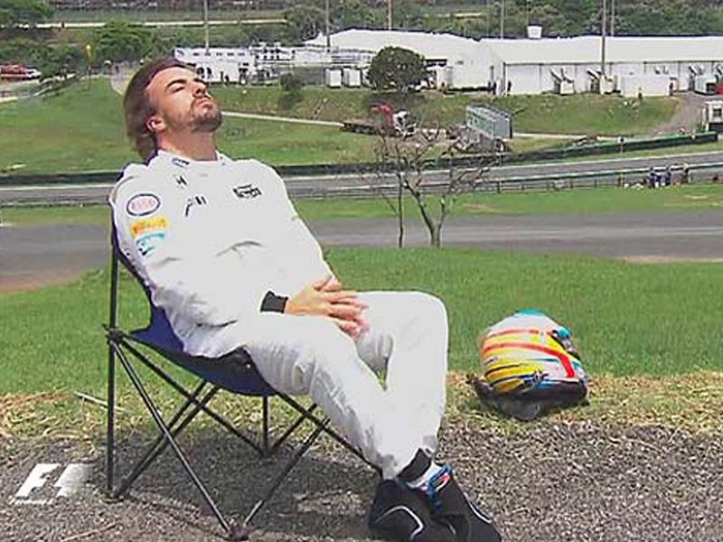 Memes de Fernado Alonso en el GP de Brasil 2015