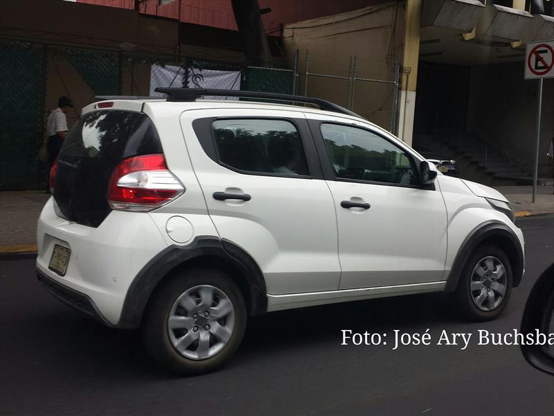 FIAT Mobi espiado en México