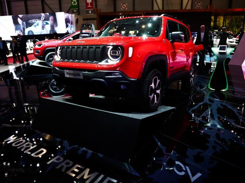 Jeep Renegade Y Compass Se Electrifican