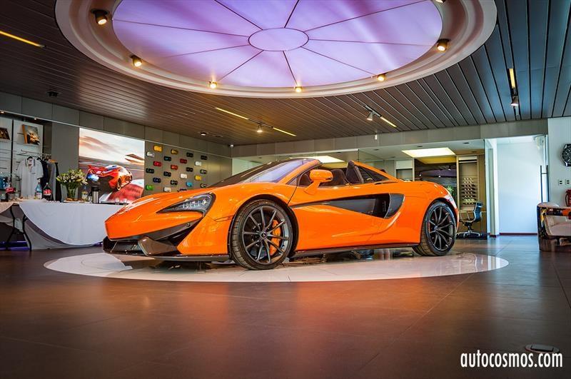 McLaren 570S Spider - Lanzamiento en Chile
