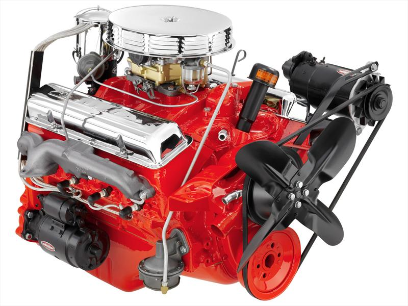 Top 10: 7.Chevy V8 small block