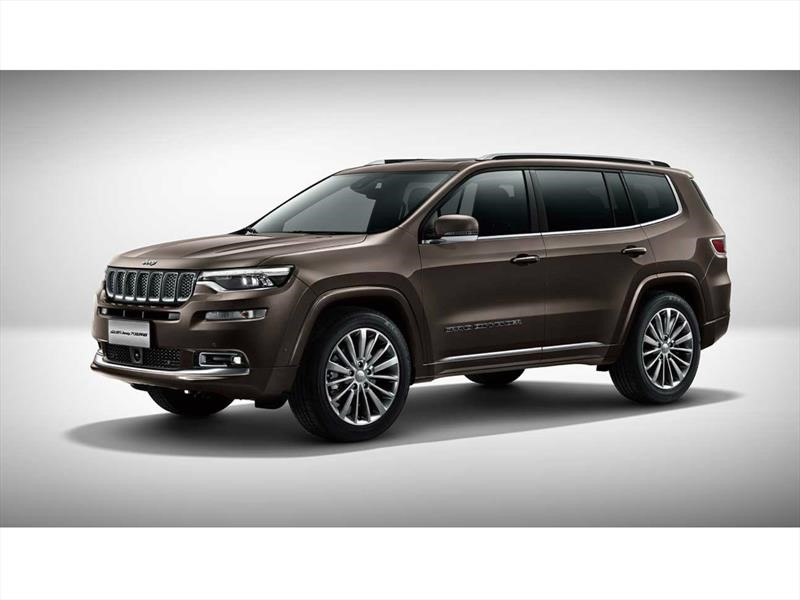 Jeep Grand Commander Auto Show de Beijing