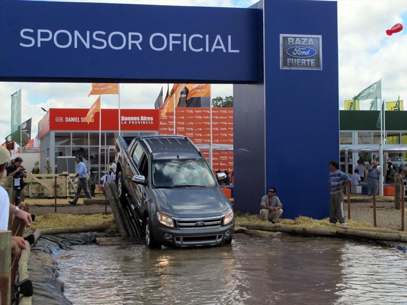 Ford Ranger en ExpoAgro 2012