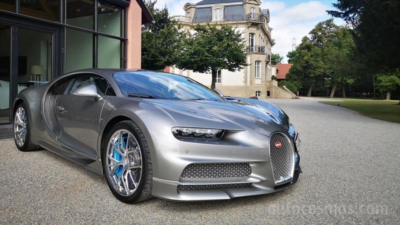 Bugatti Chiron Sport a prueba