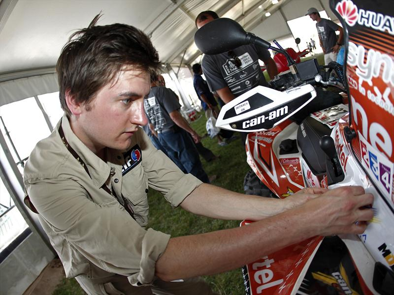 Dakar 2012, primera mitad en fotos, parte 1