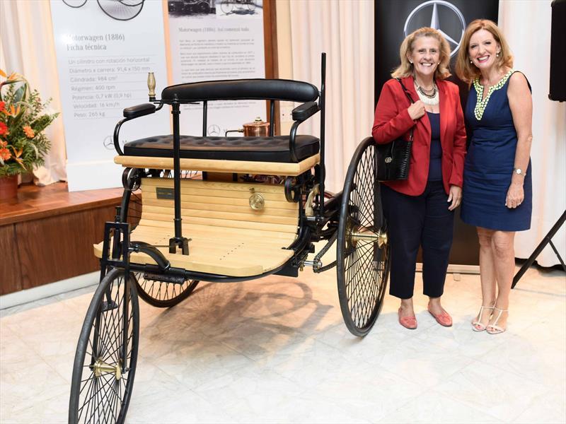 Homenaje de Mercedes-Benz a Bertha Benz en Uruguay