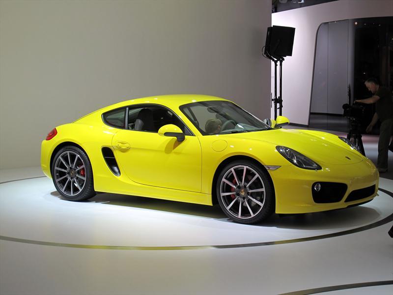 Porsche Cayman 2013 en el Salón de Los Angeles