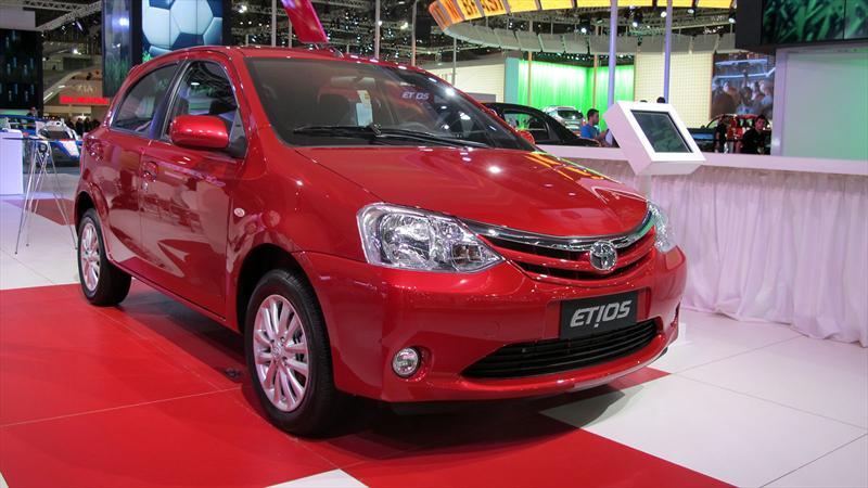 Toyota Etios debuta en el Salón de San Pablo