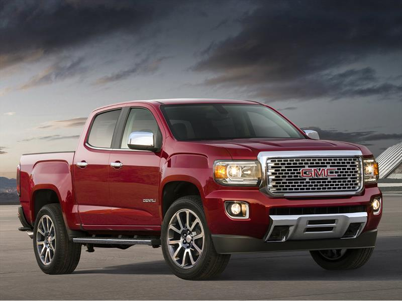 GMC Canyon Denali 2017