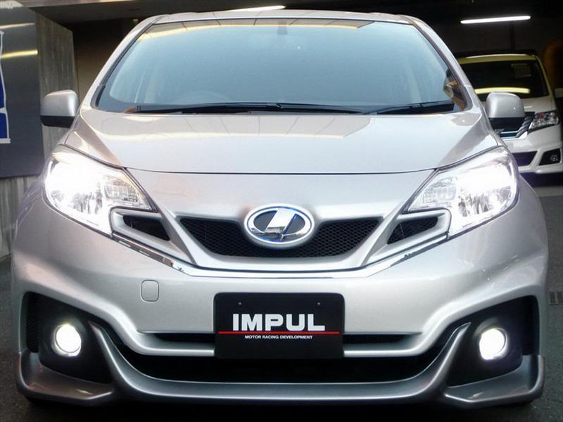 Nissan Note, modificado por Impul