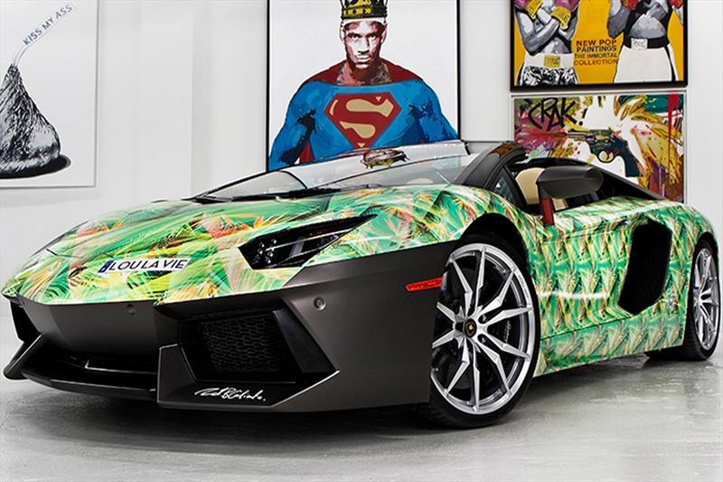 Lamborghini Aventador LP-700-4 Roadster