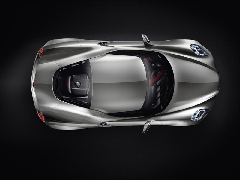 Alfa Romeo 4C concept en Frankfuert 2011 - Anticip