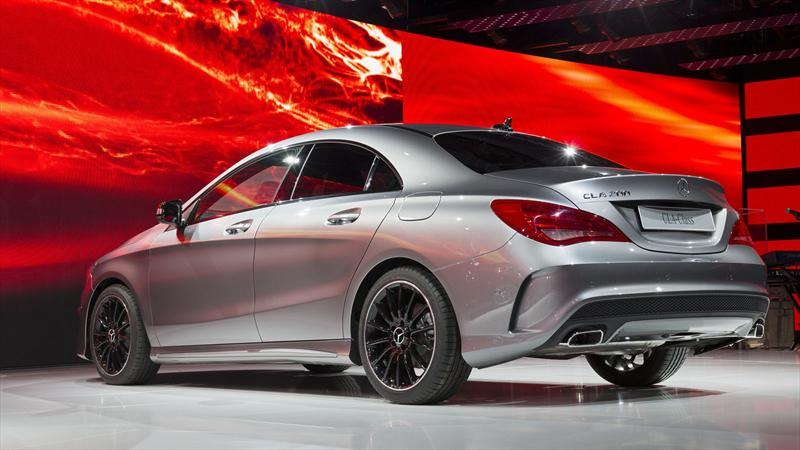 Mercedes Benz anticipa el CLA en Detroit