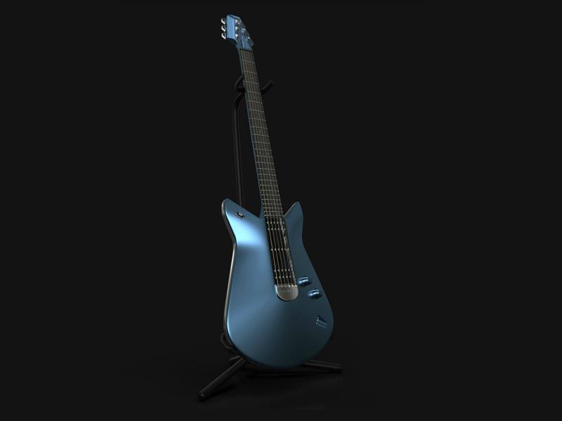Ford GT: Su guitarra, metegol y velero