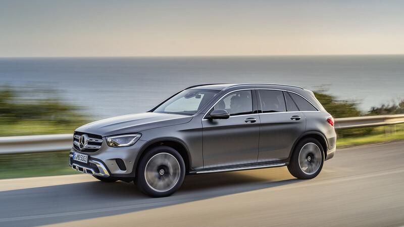 Mercedes Benz GLC 2021