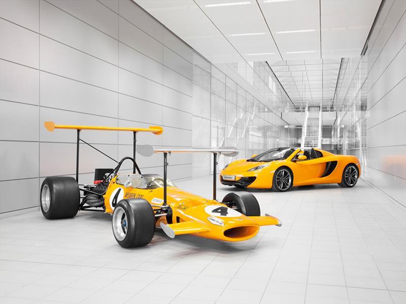 McLaren celebra 50 años en las carreras