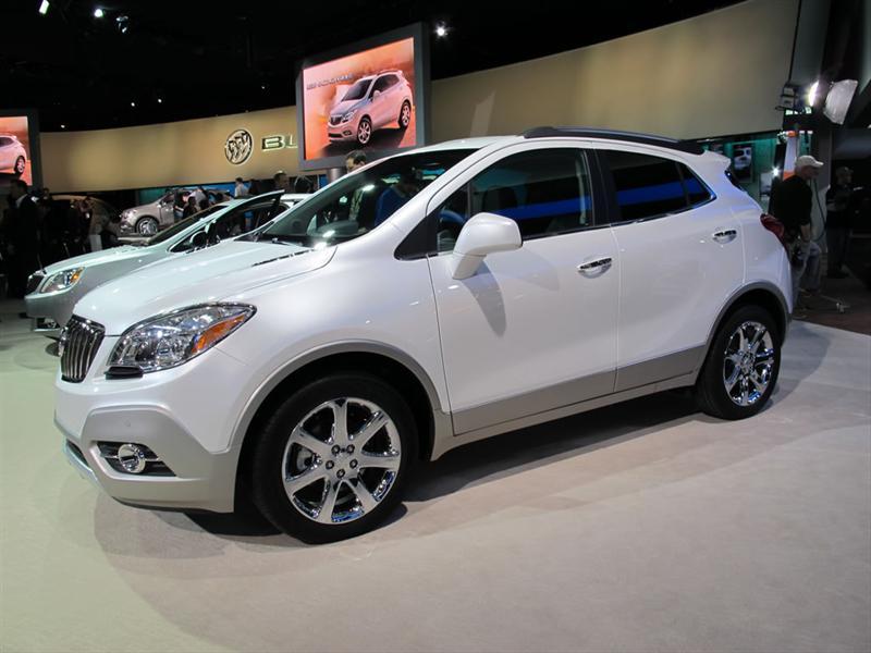 Buick Encore 2013 en el Salón de Detroit